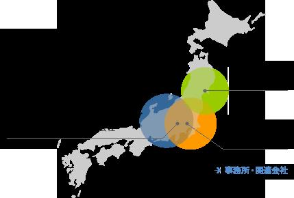 KATOHグループマップ